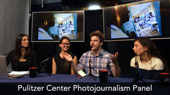 pulitzer center photojournalism panel