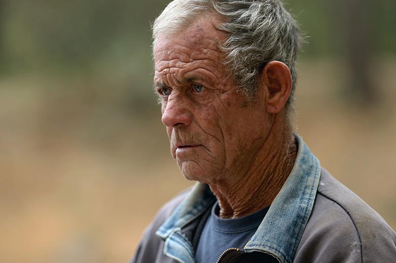 Bulldozer driver Terry Bishop.