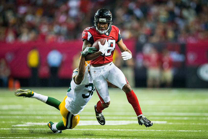 Coverage of NFC Championship between Atlanta Falcons and Green Bay Packers. Falcons won 44-21, and advance to the Super Bowl. Photo by Kevin D. Liles/kevindliles.com