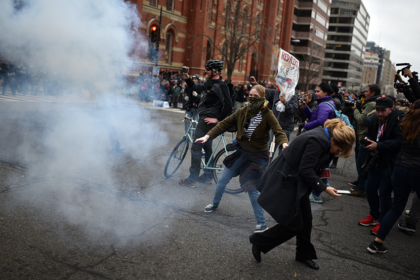 Inauguration Day Protests