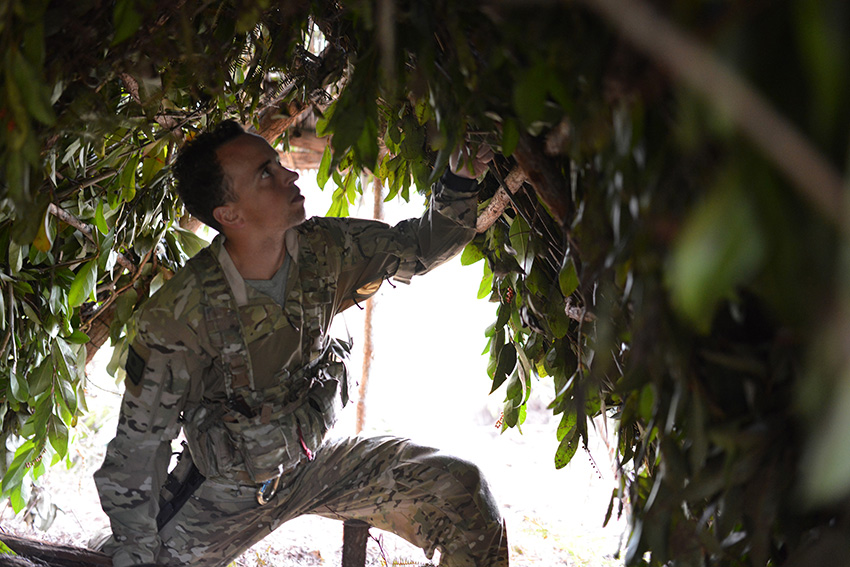 106th Rescue Wing Conducts Jungle Survival Training