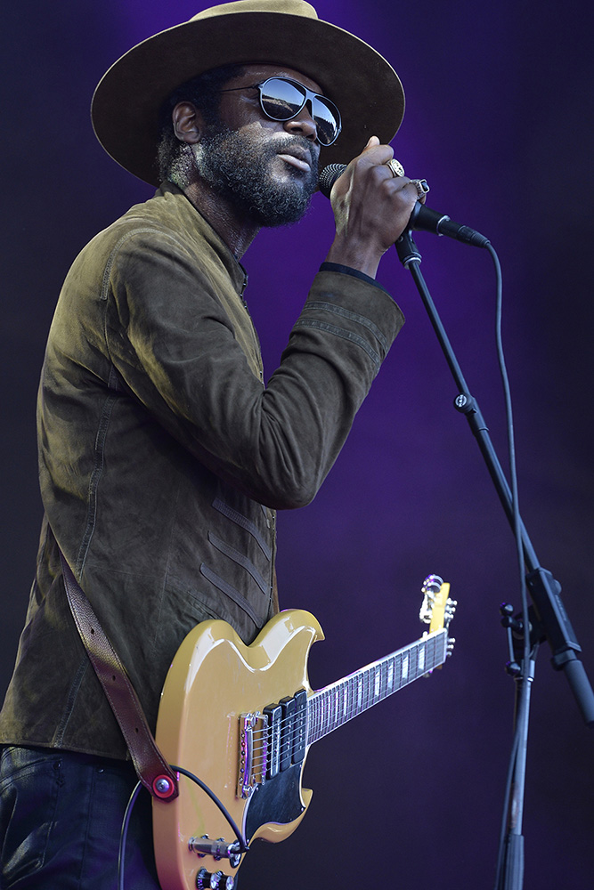 Gary Clark Jr. performs at the Monterey International Pop Festival.