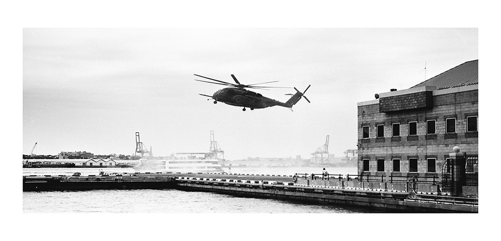 Shooting Fleet Week New York in Panoramic - by C S  Muncy