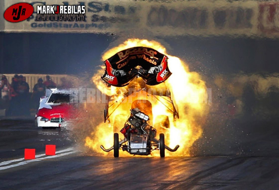 Nhra Driver Tony Pedregon Does Best Russian Meteor