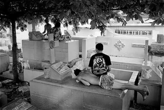 Living In The Cemetery By Roland Nagy The Photo Brigade