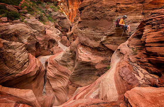 Canyoneering By Bill Sharpsteen The Photo Brigade